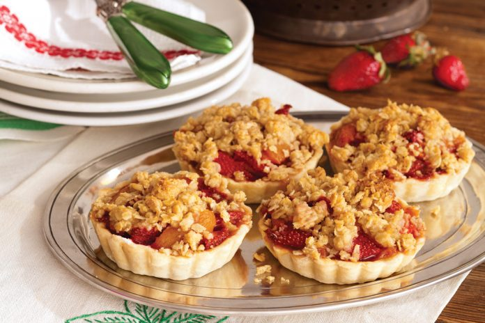 Strawberry-Apricot Tarts