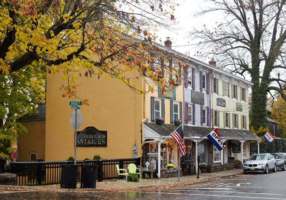 Antiquing along the Delaware River