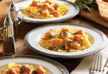Garden pasta recipe