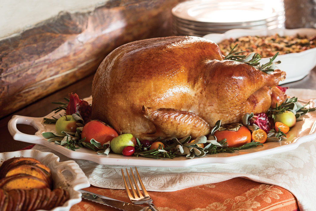 Glazed Roasted Turkey - Victoria Magazine