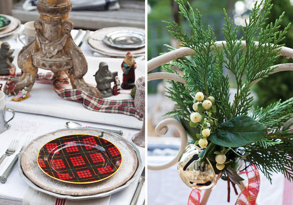 Inspired style five holiday tablescapes victoria magazine - Interesting tables capes for christmas providing cozy gathering space ...