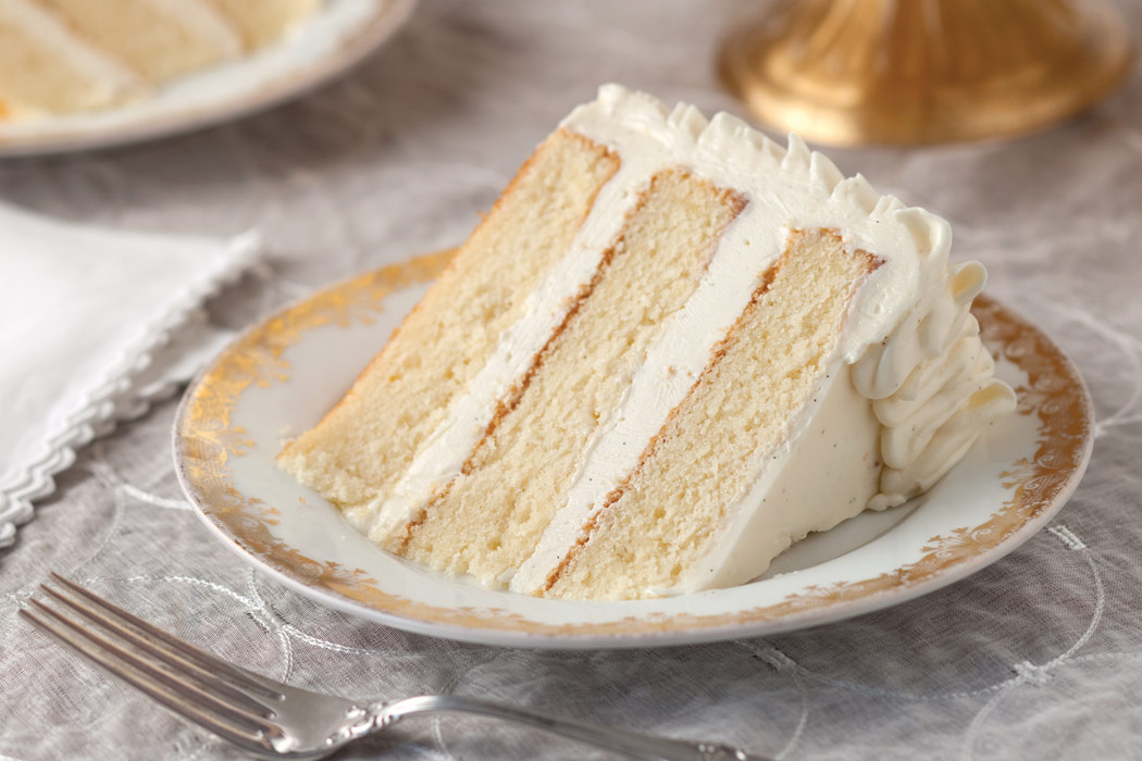 Cake With Cream Frosting : Sour-Cream Cake with Whipped Vanilla Frosting - Victoria ...