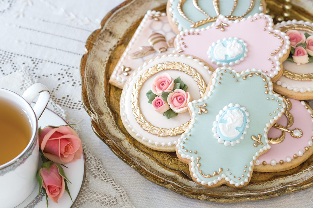 Marie Antoinette Cookies A How To From Sweetambs Victoria Magazine