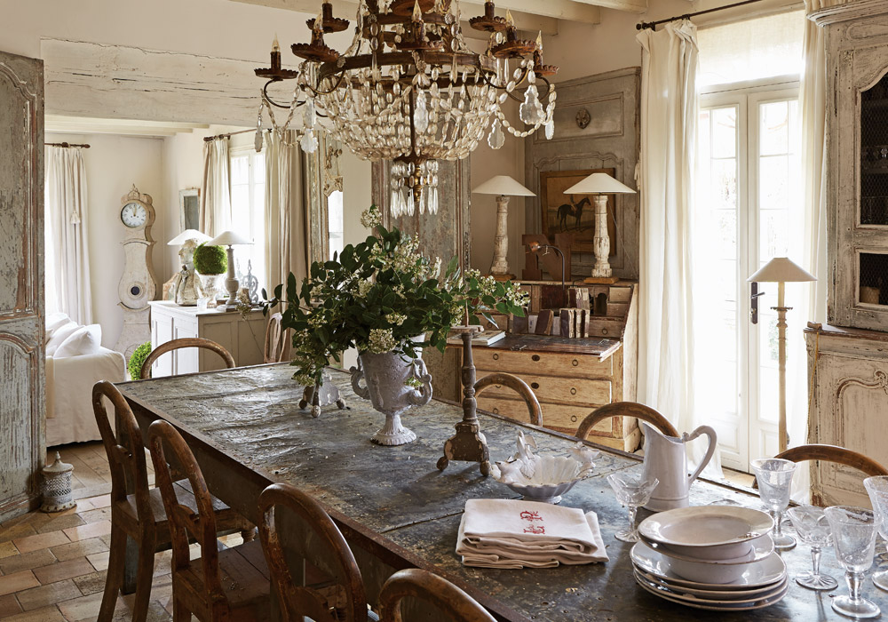 A Refined French Interior