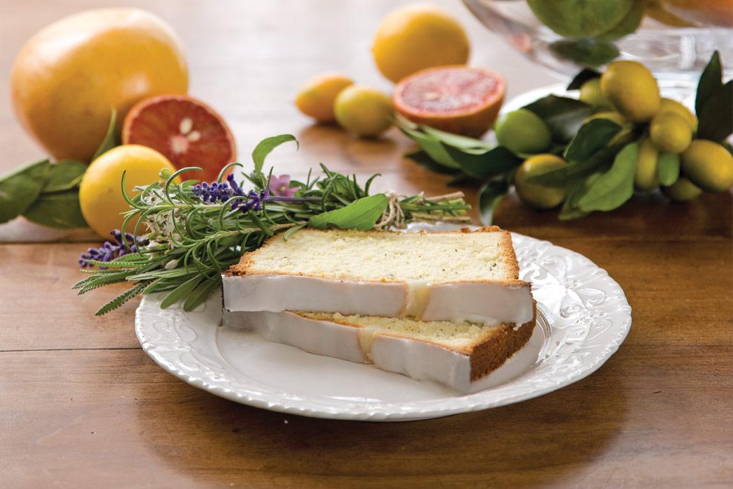 Meyer Lemon and Thyme Pound Cake