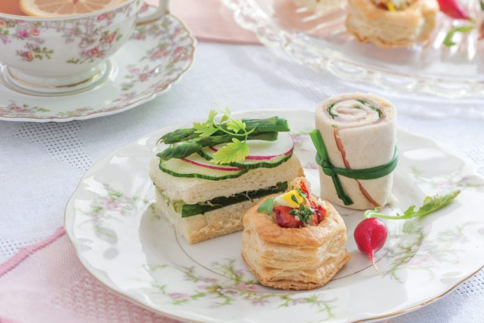 Cucumber Tea Sandwiches with Herb Aïoli