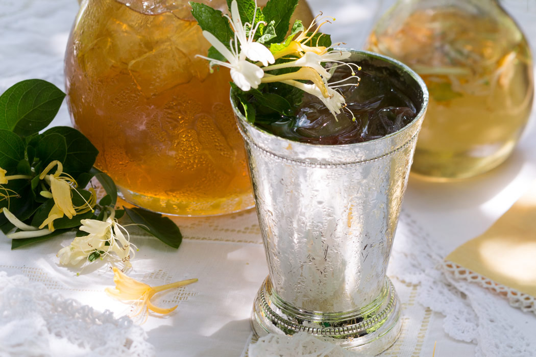 Honeysuckle Mint Julep