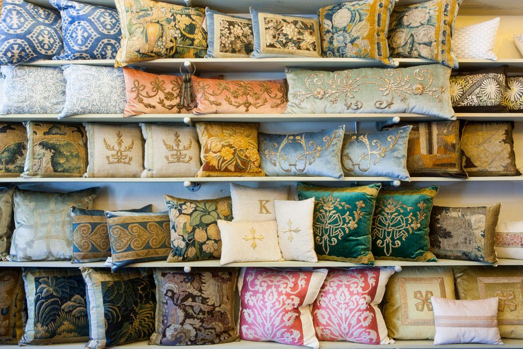 At Home with Antique Textiles: B. Viz Design