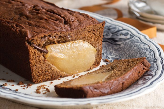 Gingerbread-Pear Loaf