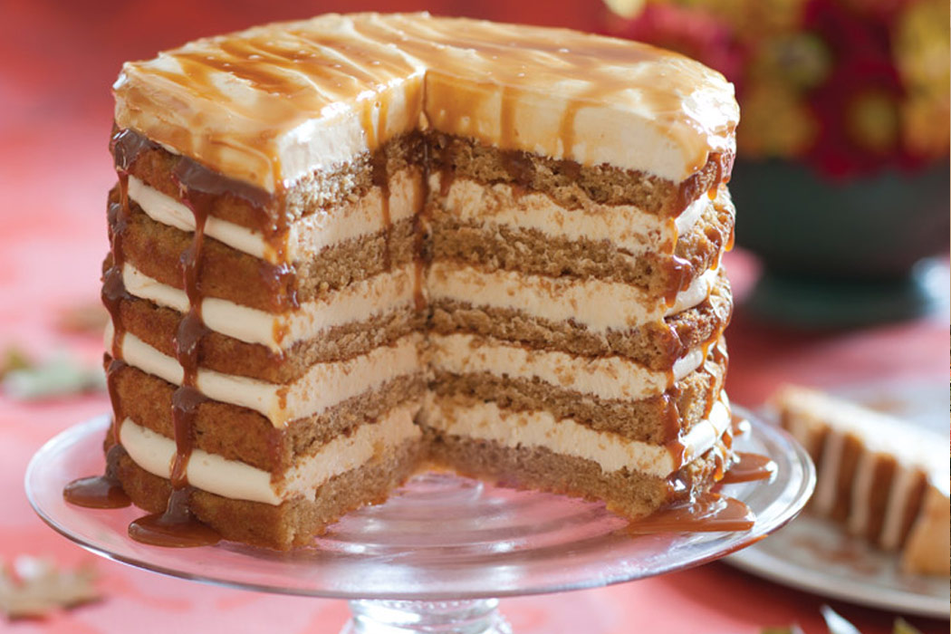 Buttermilk Cake With Caramel Frosting