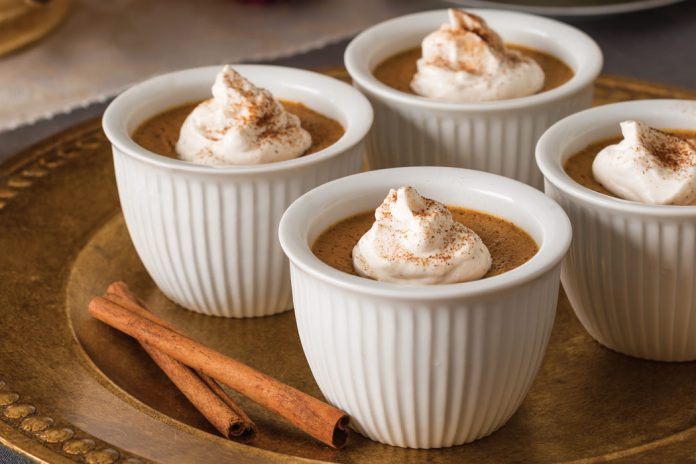 Abraham Lincoln Pumpkin Puddings