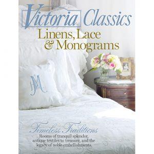 Victoria Special Issue Linens, Lace & Monogram 2017