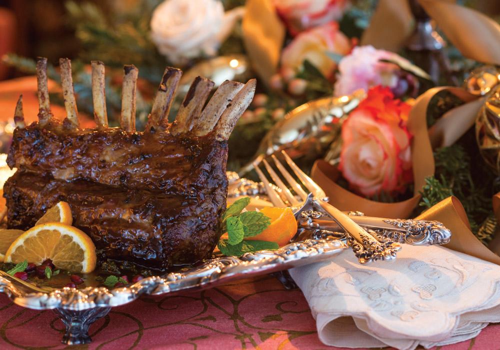A Hearthside Repast