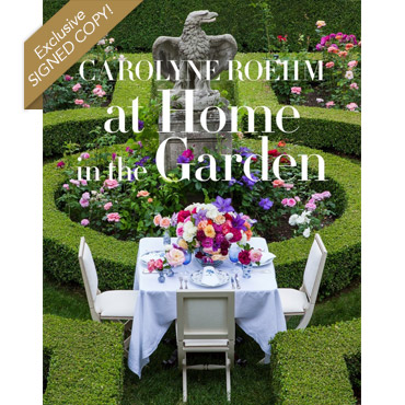 At Home in the Garden - Exclusive Signed Copy