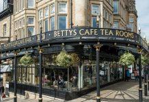 Bettys Café Tea Room Blackberry and Lemon Torte
