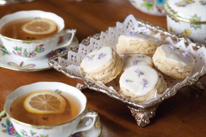 Lavender Cream Scones