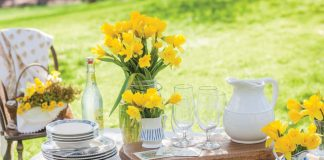 Among the Daffodils