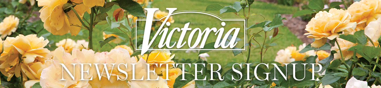Victoria Newsletter Signup