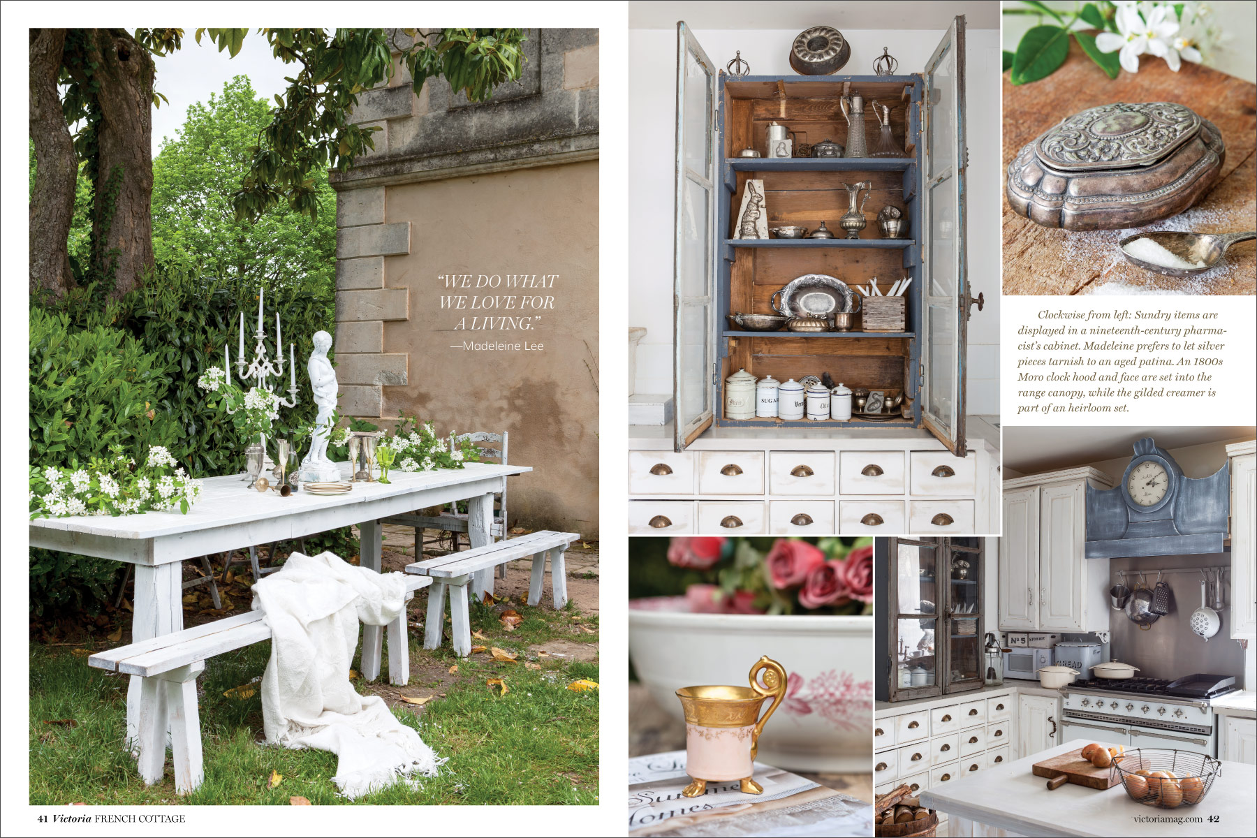 Preview the french cottage issue victoria magazine for French country cottage magazine