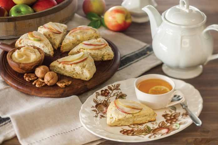 Apple and Irish Cheddar Scones