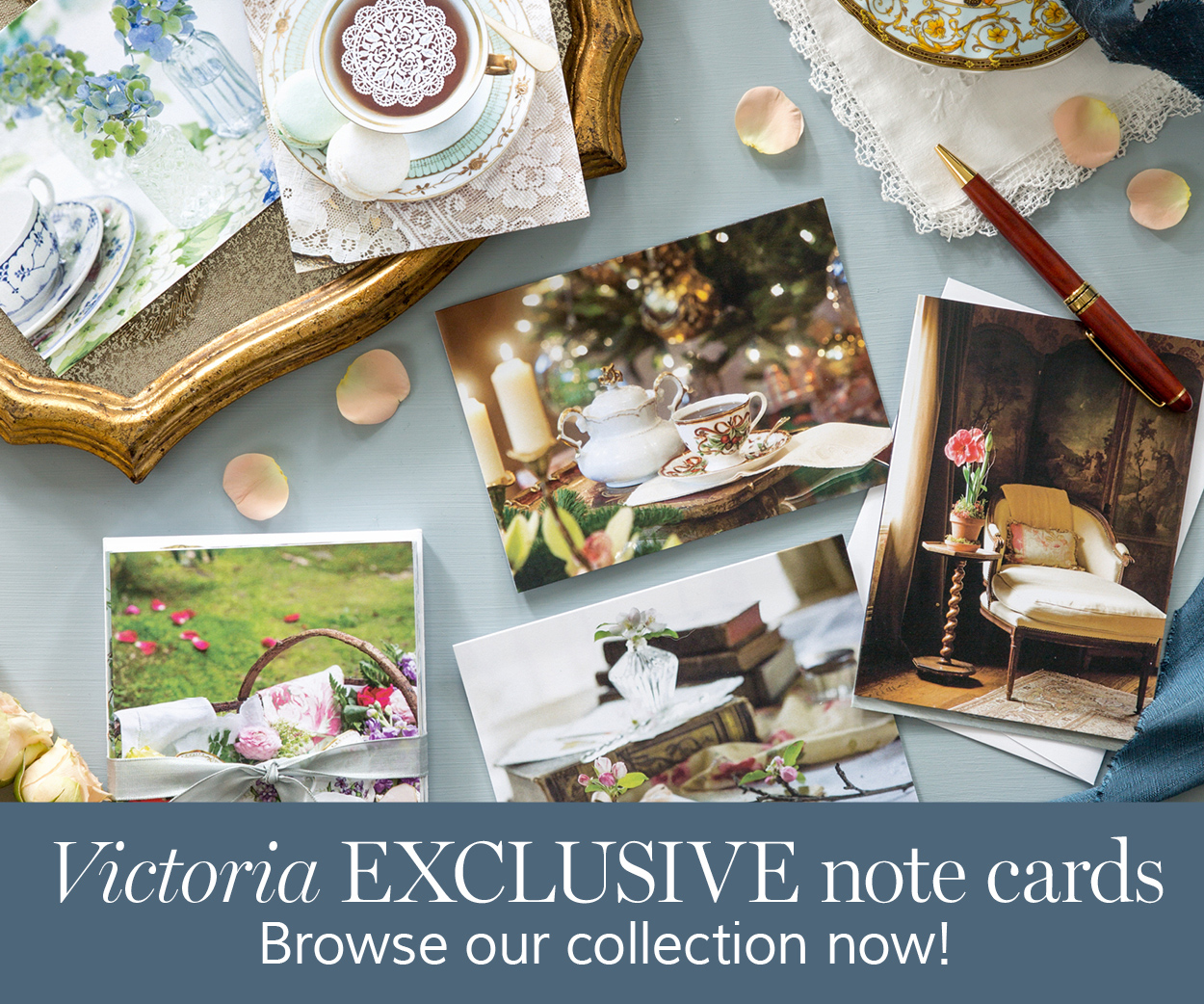 Order the Exclusive Victoria Notecards