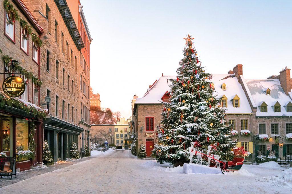 Joyeux Noël from Québec City