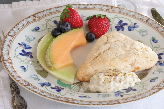 Dried Apricot Scones