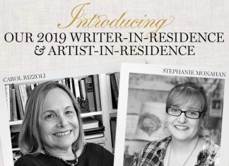 Meet Our 2019 Writer-in-Residence and Artist-in-Residencew