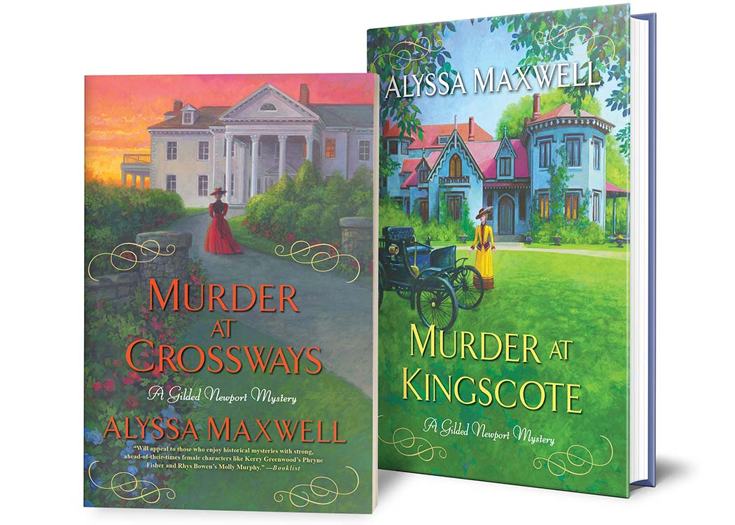 The Gilded Newport Mystery Series by Alyssa Maxwell