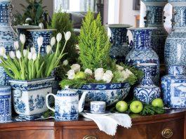 Blue & White Teatime